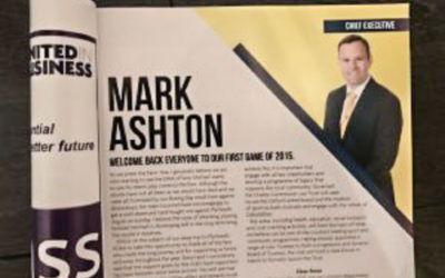 Oxford United Chief Executive Mark Ashton